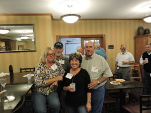 Holiday Inn- Geri & John Letki #888 and Carl (Farmer) & Janet Hall #1162