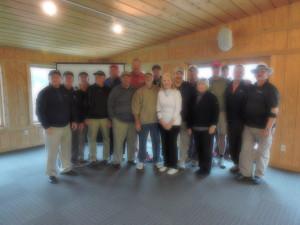 The Gracious Alpha Sig Golf Team